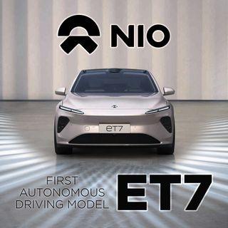72. NIO ET7 - NIO's First Autonomous Driving Model | Shanghai Auto Show