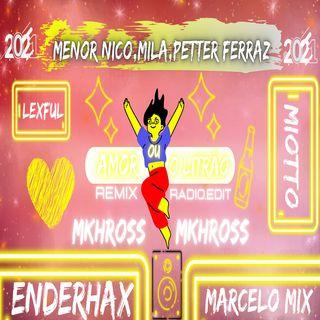 Menor Nico,Mila,Petter Ferraz - Amor Ou O Litrão (Remix - Radio.Edit - 2K21)