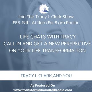 Join Tracy L for Life Chats, What You Resist You Get More Of