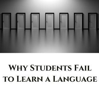 When Students Fail to Learn a Language