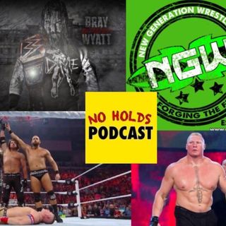 Ep 15. Wyatt push, British Wrestling, Lesnar, The Club
