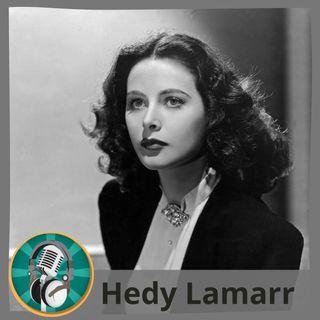 Alejandro Guillén con Hedy Lamarr
