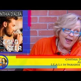 Hot Seal, Cold Beer! NYT Best Selling Author Cynthia D'Alba on the Hangin With Web Show