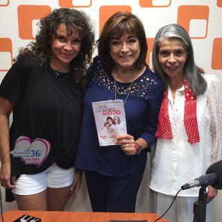 """Mariana Garza y Ana Silvia Garza nos visitaron para hablar de la obra """"Nuestro cuaderno rojo""""."""