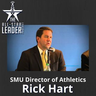 Episode 038 - SMU Director of Athletics Rick Hart