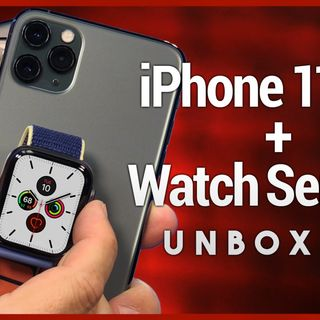 iPhone 11 Pro Max & Apple Watch Series 5 Unboxing
