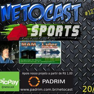 NETOCAST 1222 DE 20/11/2019 - ESPORTES - F1 - FUTEBOL