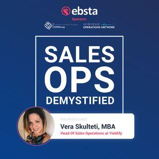 Vera Skulteti, Sales Operations Manager @ Yieldify