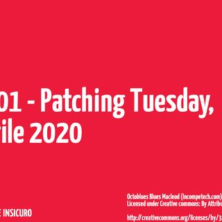 Patching Tuesday, aprile 2020