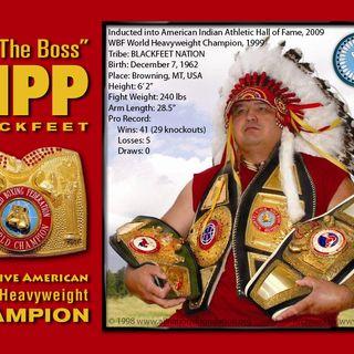 Legends of Boxing Show: Guest Joe Hipp former Heavyweight contender