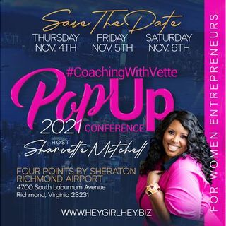 Why is your conference called the POP UP Conference? Here's the tea!