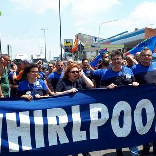 Operai Whirpool incontrano il ministro Giorgetti a Roma