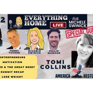 212 LIVE: Entrepreneur, Motivate, Covid19 Truths, Lose Weight + AMERICA RESTORED