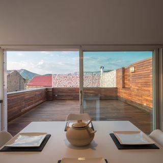 L'attico con vista sulla Reggia di Caserta raccontato dall'Architetto Paolo Basco