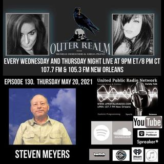 The Outer Realm With Michelle Desrochers and Amelia Pisano guest Steven Myers