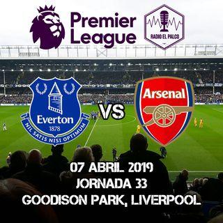 Everton vs Arsenal en VIVO
