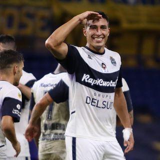 Gol de Gimnasia: Germán Guiffrey 1-1
