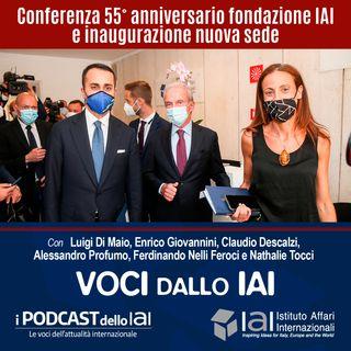 Conferenza 55° Anniversario fondazione IAI e inaugurazione nuova sede