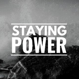 Staying Power - Morning Manna #3087