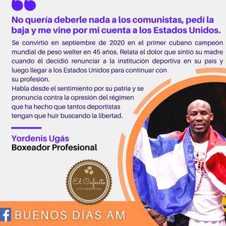 Cafecito con el Boxeador Profesional Yordenis Ugás