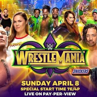 WWE Wrestlemania Preview as well as this week in wrestling!