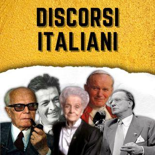 Sandro Pertini intervistato da Enzo Biagi 1982 - Discorsi Italiani