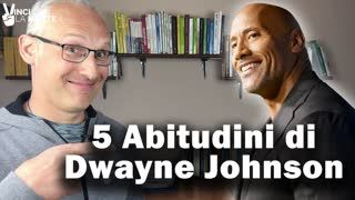5 Abitudini di Dwayne Johnson (alias The Rock)