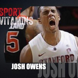 Episode 11 - SPORT VITAMINS (ENG) / guest Josh Owens, Player-REGGIO EMILIA BASKETBALL