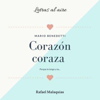Corazón coraza | Mario Benedetti