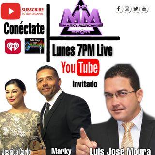 Entrevista al Periodista Luis Jose Moura desde Notiuno para TheMarkyMarcanoShow
