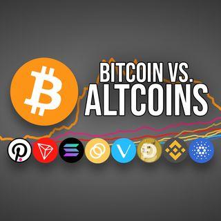 81. Bitcoin vs. Altcoins | BTC v DOGE, ADA, DOT, VET, SOL, TRX, BUSD