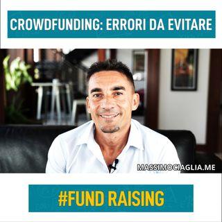 Crowdfunding: errori da evitare