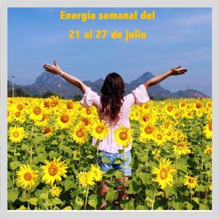 Energía de la semana 30 Año 2019: Del 21/07 hasta el 27/07