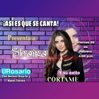 Shaira y su éxito 'Córtame'