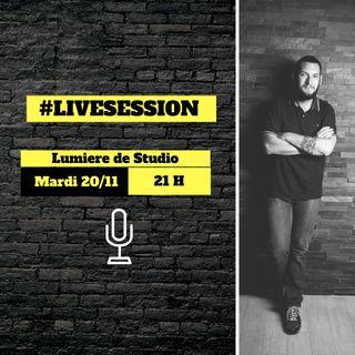 Live session – Les 10 choses à savoir pour commencer en photographie de studio