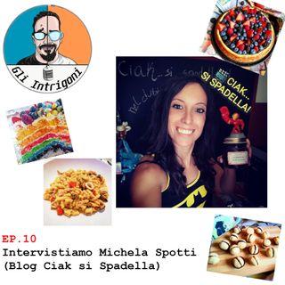 #10 Intervistiamo Michela Spotti (Blog Ciak si spadella) (Skype Sessions)