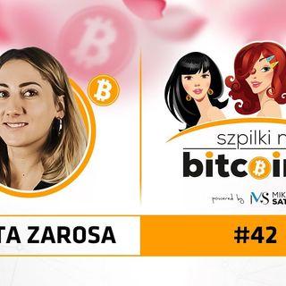 Szpilki na Bitcoinie #42 | Marta Zarosa - CMO Smartkey