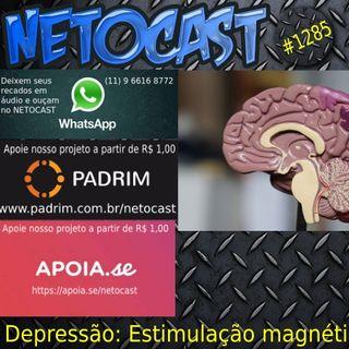 NETOCAST 1285 DE 18/04/2020 - Tratamento para depressão reduziu sintomas de 90% dos pacientes em testes