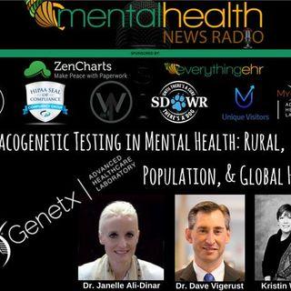 Pharmacogenetic Testing in Mental Health: Rural, Population, & Global Health