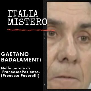 Gaetano Badalamenti (descritto da Pazienza)