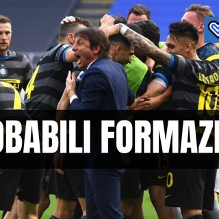 Le probabili formazioni di Inter-Sampdoria: tanti cambi per Conte