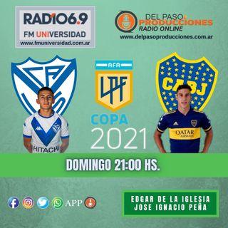 Boca apabulló a Vélez en Liniers