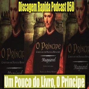 DRP: 058: Um Pouco do Livro, O Principe