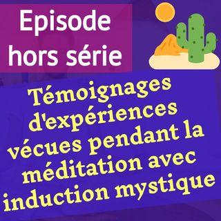 (hors série) 111 témoignages EN VRAC d'expériences vécues pendant la méditation avec induction mystique (MIM)