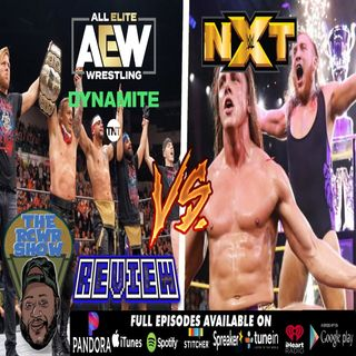 AEW Dynamite 1-29-2020 Jericho 1Ups Moxley vs WWE NXT Dusty: Cup Finale! The RCWR Show