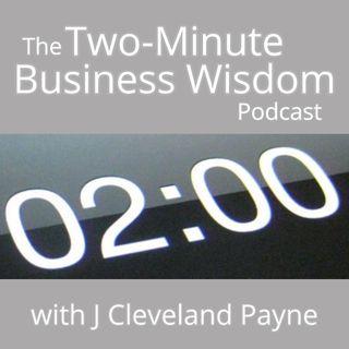 Two Minute Business Wisdom