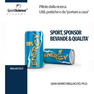 Gli sponsor influiscono sulla qualità delle bevande nello sport?