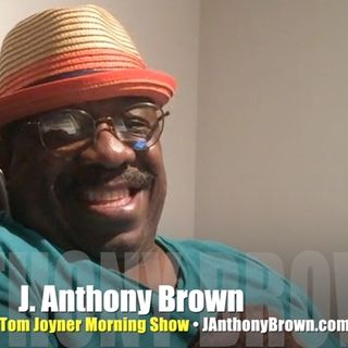 Comic J. Anthony Brown lights us up!