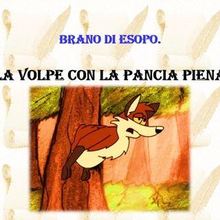 """""""La volpe con la pancia piena"""", di Esopo"""