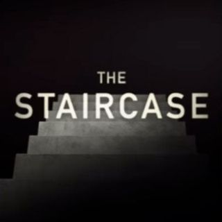 "Are you obsessed with ""The Staircase""???  We're obsessed with ""The Staircase"""